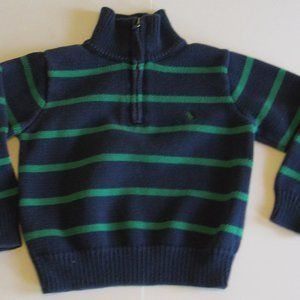 4/$15 Toddler Boys Long Sleeve Knit Sweater Sz 4T